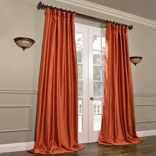 Faux Dupioni Silk Curtains Buy Poppy Fields Yarn Dyed Faux Dupioni Silk Curtains
