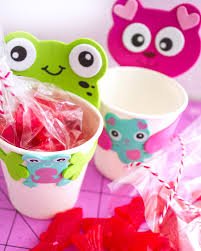 diy valentine gift for kids paper cup kits darice