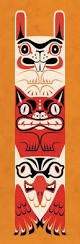 best 25 totem poles ideas on pinterest native american totem