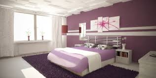 Bedroom Decor Purple Gray Simple And Neat Small Pink And Purple Bedroom Decoration