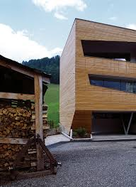 design awesome architecture exterior cube house among wooden