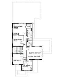 Prairie House Plans Prairie Style House Plan 4 Beds 2 50 Baths 2439 Sq Ft Plan 434 2