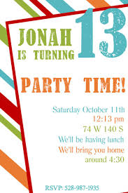 21 teen birthday invitations inspire design cards birthday