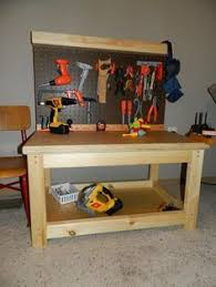 Pottery Barn Tool Bench Kids Pallet Workbench Pallets Diy Ideas And Woodworking