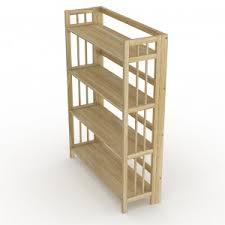 folding bookcase u2013 natural wood 32 u2033 stony edge