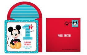 plan a precious mickey mouse 1st birthday party