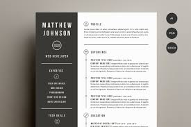 Good Resume Fonts For Designers by 30 Resume Templates Guaranteed To Get You Hired Inspirationfeed