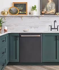 black kitchen cabinets with black appliances photos matte black customizable professional appliances café