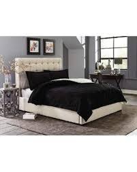 Cannon Bedding Sets 55 Cannon Silky Velvet Comforter Set Black King