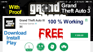 free on android without downloading how to install grand theft auto 3 free any android