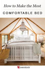 How To Make The Bed How To Make The Most Comfortable Bed Overstock Com