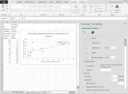 Advanced Spreadsheet Bivariate Descriptive Statistics Unsing Spreadsheets To View And