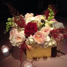 Pink And Gold Centerpieces by Burgundy Blush And Gold Centerpiece Christmas Wedding Ms