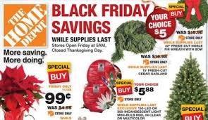 home depot black friday add home depot 5 fresh cut garland or wreath my frugal adventures