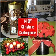 Christmas Centerpieces Diy by 14 Diy Christmas Centerpieces Allfreechristmascrafts Com