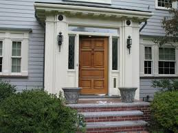 Exterior Doors With Glass Panels by Exterior Wood Doors With Glass Panels Examples Ideas U0026 Pictures