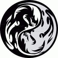 how to draw a tribal yin yang by symbols pop culture