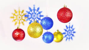 Silver And Blue New Years Eve Decorations by Beautiful Christmas And New Year Colorful Background Close Up Of