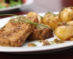 cuisiner le roti de porc rôti de porc à la moutarde et au miel recette de rôti de porc à la