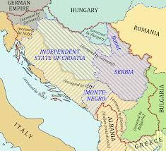 World War 1 Map Of Europe Atlas Of Yugoslavia Wikimedia Commons