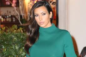 kim kardashian u0027s green peplum dress gets an u0027a u0027 for effort photos