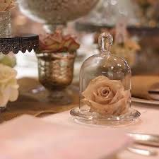 jar table decorations mini glass dome bell jar cloche wedding table decorations