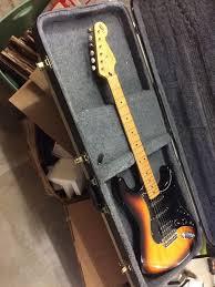 1994 fender stratocaster guitar fat strat special hss 2 knob mim