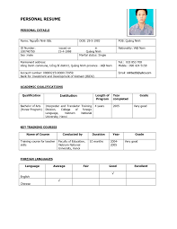 Resume Template Basic Examples Of Resumes Free Resume Templates More Inspiration And