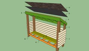 how to buid a firewood shed u2014 jen u0026 joes design