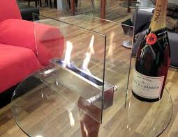 Portable Indoor Outdoor Fireplace by Modern Fire Oasis Glassfire Tabletop Portable Indoor Ethanol