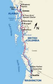 Gulf Of Alaska Map Memphis To New Orleans Usa River Cruises