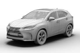 lexus sports car model 3d model 2015 lexus nx300h cgtrader