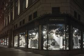 s magical orbs take the windows at saks fifth avenue