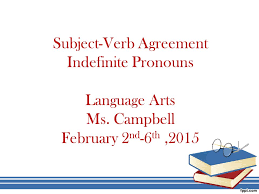 subject verb agreement language arts ms ppt video online download