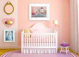 Storkcraft Princess 4 In 1 Fixed Side Convertible Crib White by Disney Princess Nursery Decor