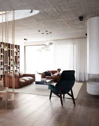 contemporary home design meant to book lovers