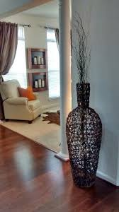 Wicker Vases Large Wicker Floor Vase With Branches Home Decor Pinterest