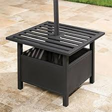 Amazon Com Patio Furniture by Amazon Com Brylanehome Umbrella Stand Side Table Oil Rubbed
