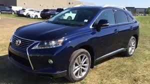 used 2015 lexus suv for sale new blue 2015 lexus rx 350 awd technology pckg review west