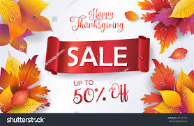 thanksgiving sale autumn sales banner fall stock vector 691576735