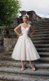inspired wedding dresses 50s style wedding dresses tea length naf dresses