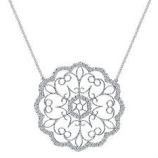 white gold fashion necklace images 14k white gold diamond lace fashion necklace jpg