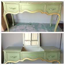 shabby chic writing desk shabby chic vanity goes rock and roll laurenkellydesigns