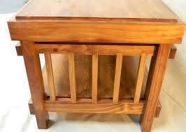 craftsman style end tables table designs