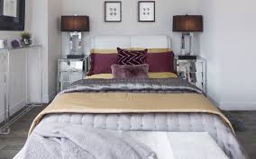 Gold And Silver Bedroom by