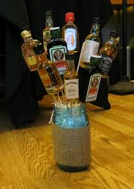 halloween flowers gifts forget flowers u2014give your sweetheart a bouquet of mini alcohol