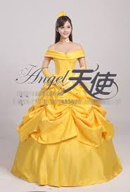 Belle Halloween Costume Women Cosplay Cloak Picture Detailed Picture Beauty