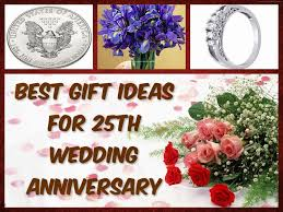 25th wedding anniversary gift wedding anniversary gifts best gift ideas for 25th wedding