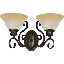 thomas lighting pittman 3 light sienna bronze wall bath vanity