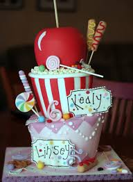 candy decorated cake ideas 2786 pin cake with great table